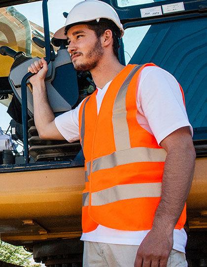 Safety Vest with four Reflectors EN ISO 20471   Korntex