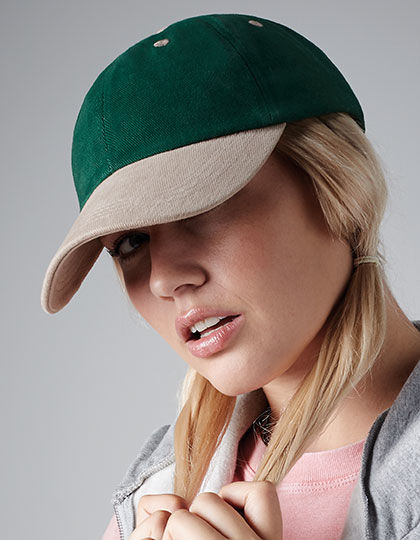 Low Profile Heavy Brushed Cotton Cap | Beechfield