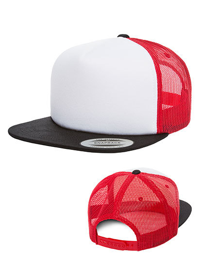 Foam Trucker with white Front | FLEXFIT