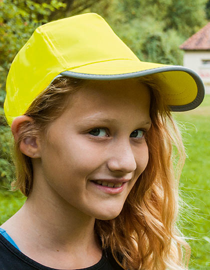 Hi-Viz-, Fluo-Cap /Kids   Korntex