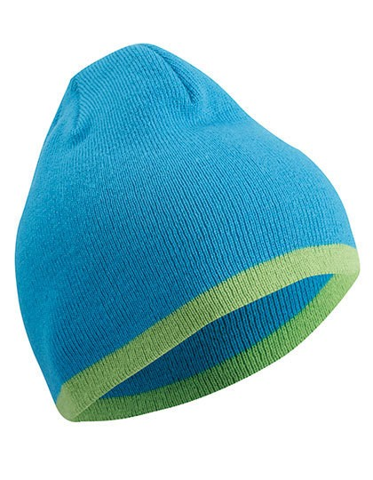 myrtle beach-Beanie with Contrasting Border