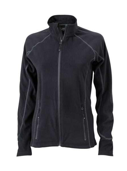 Ladies´ Structure Fleece Jacket | James & Nicholson