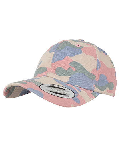 Low Profile Cotton Camo Cap | FLEXFIT