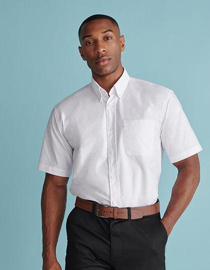 Men`s Classic Short Sleeved Oxford Shirt | Henbury