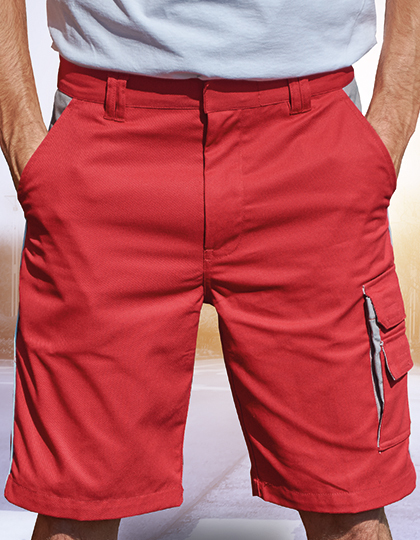 Contrast Work Shorts   Carson Contrast