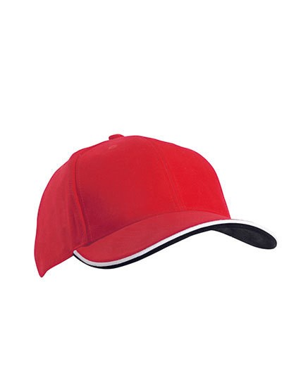 myrtle beach-6 Panel Double Sandwich Cap