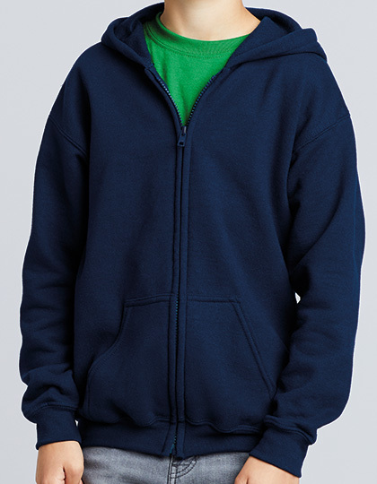 Heavy Blend™ Youth Full Zip Hooded Sweatshirt | Gildan