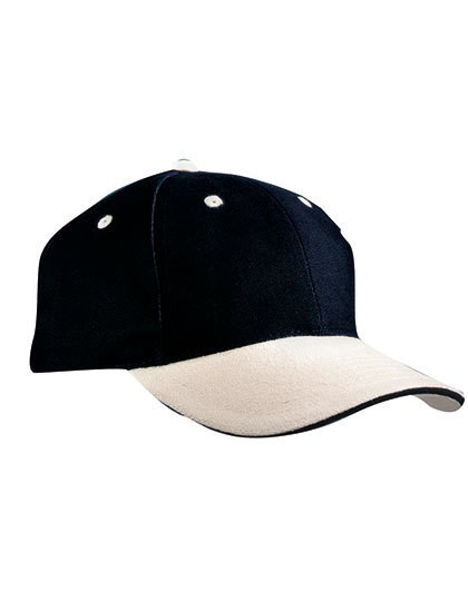 myrtle beach-6-Panel Sandwich Cap