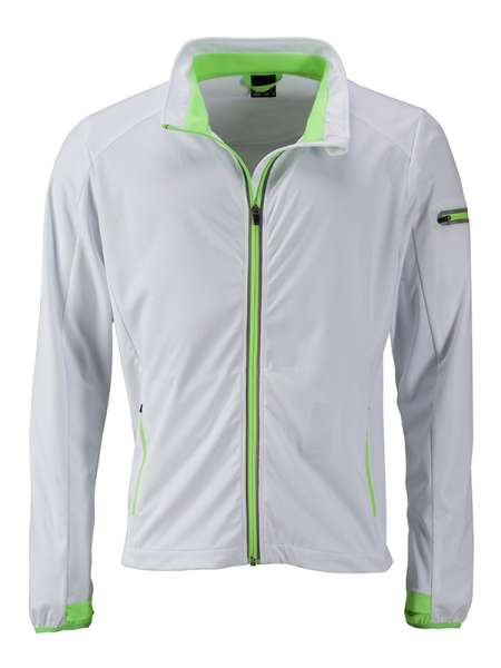 Men`s Sports Softshell Jacket | James & Nicholson