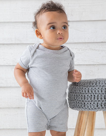 Baby Striped Playsuit | Babybugz