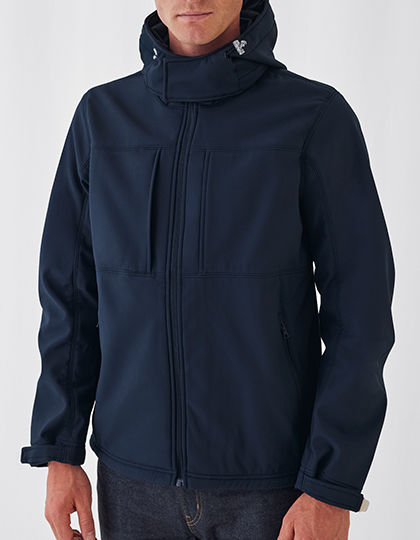 Hooded Softshell / Men | B&C