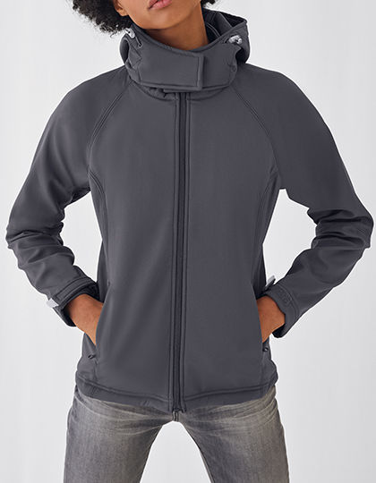 Hooded Softshell / Women | B&C