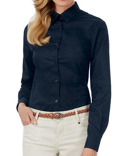 Twill Shirt Sharp Long Sleeve / Women | B&C