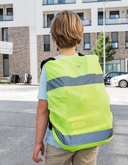 Hi-Viz Cover for backpacks EN 13356 | Korntex