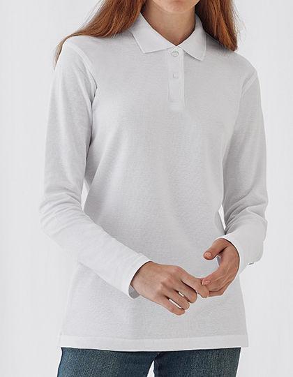 Long Sleeve Polo ID.001 / Women | B&C