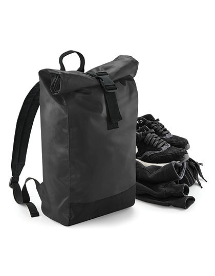 Tarp Roll-Top Backpack | BagBase