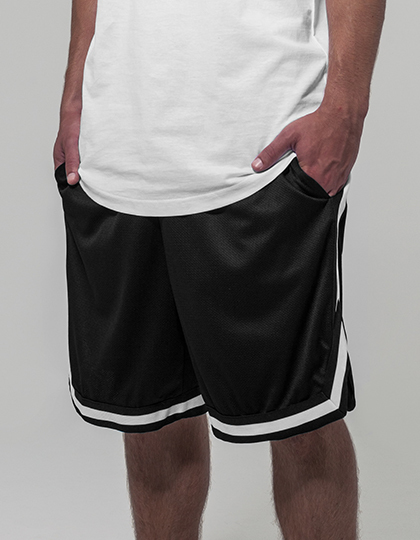 Two-tone Mesh Shorts | Build Your Brand