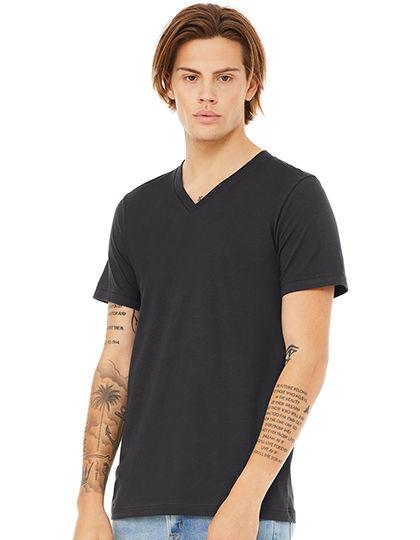 Jersey V-Neck T-Shirt | bella+canvas