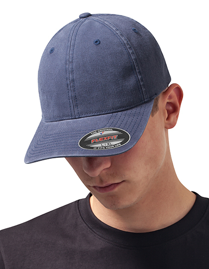 Garment Washed Cotton Dad Hat | FLEXFIT