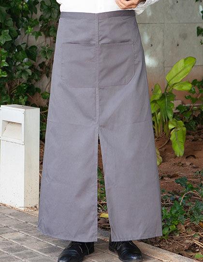 Bistro Apron with Split and Front Pocket | Link Kitchen Wear