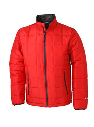 Men´s Padded Light Weight Jacket | James & Nicholson