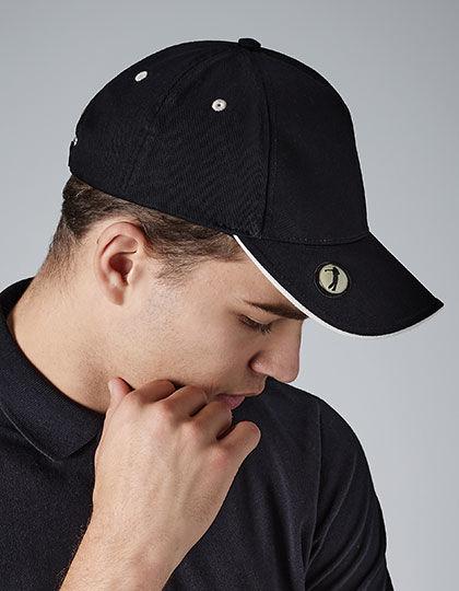 Pro-Style Ball Mark Golf Cap | Beechfield
