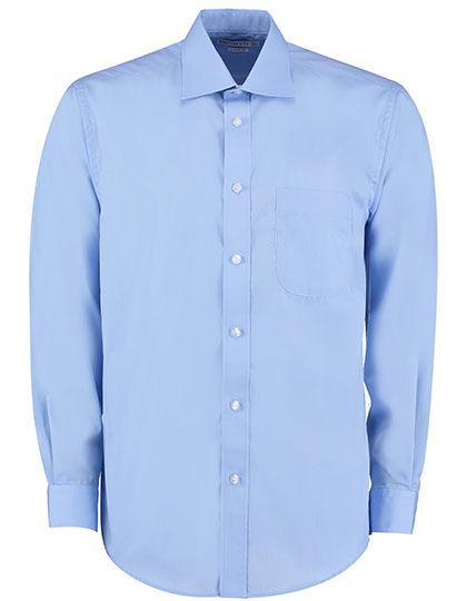 Mens Business Shirt Long Sleeve   Kustom Kit