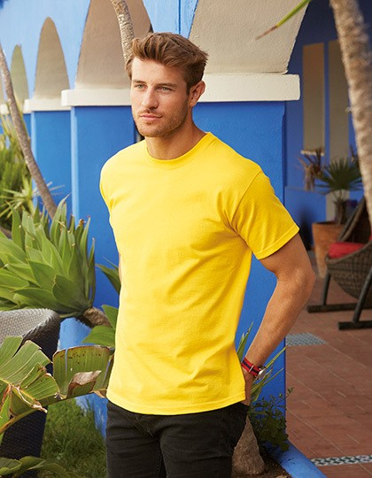 Fruit of the Loom-Heavy Cotton T