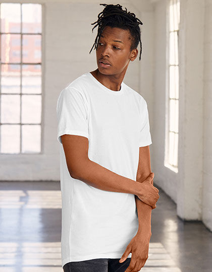 Mens Long Body Urban Tee | bella+canvas