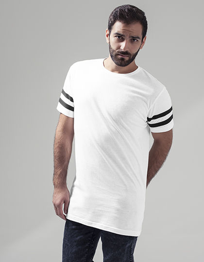 Stripe Jersey Tee | Build Your Brand