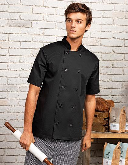 Essential Short Sleeve Chef´s Jacket | Premier Workwear