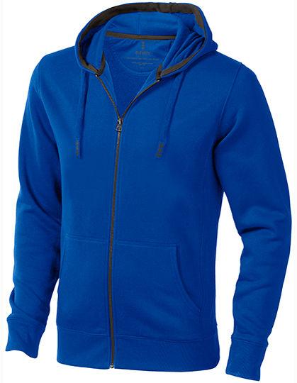 Arora Hooded Full Zip Sweater | Elevate