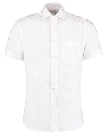 Mens Premium Non Iron Corporate Shirt Short Sleeve   Kustom Kit