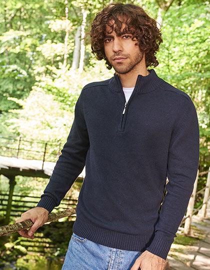 Wakhan 1/4 Zip Knit Sweater   Ecologie