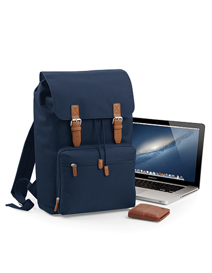 Vintage Laptop Backpack | BagBase