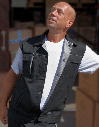Contrast Work Vest | Carson Contrast