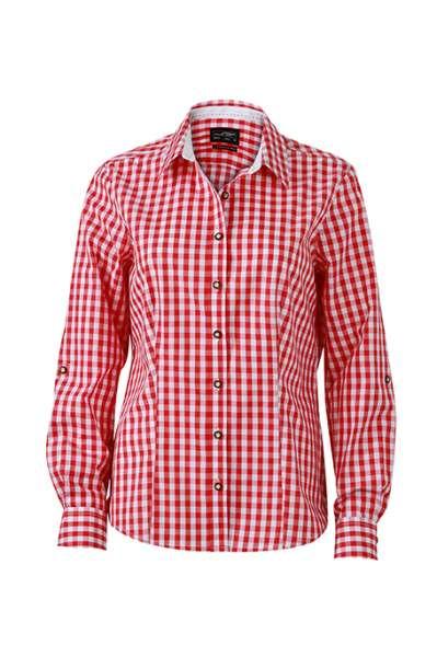 Ladies' Traditional Shirt | James & Nicholson