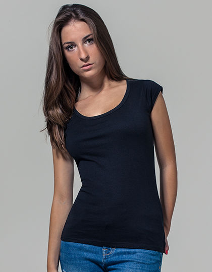 Ladies Back Cut Tee | Build Your Brand