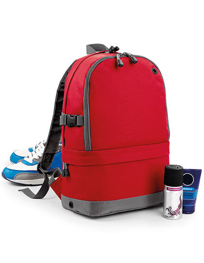 Athleisure Pro Backpack   BagBase