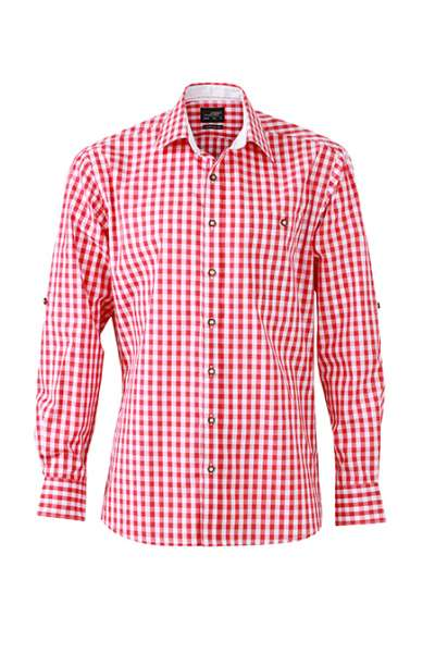 Men's Traditional Shirt | James & Nicholson