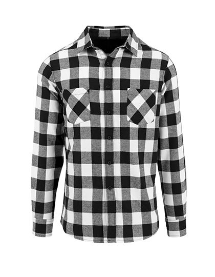 Checked Flannel Shirt | Build Your Brand
