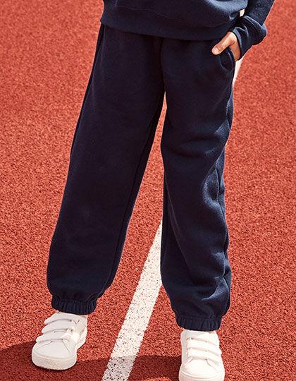 Premium Elasticated Cuff Jog Pants Kids   Fruit of the Loom
