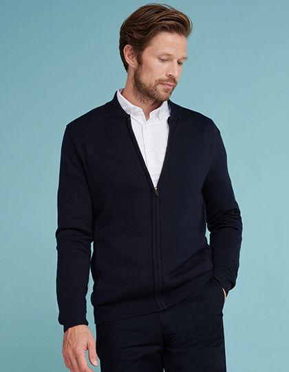 Unisex Knitted Bomber Jacket | Henbury