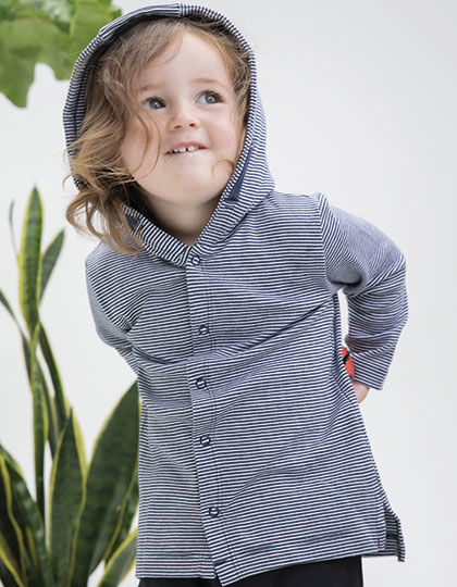 Baby Striped Hooded T | Babybugz