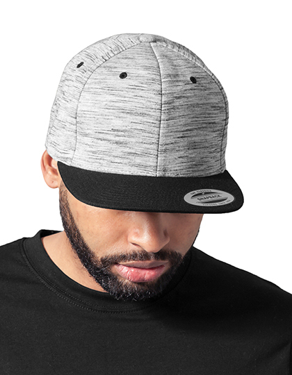 Stripes Melange Crown Snapback | FLEXFIT