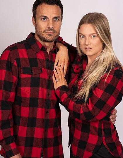 Women`s Woven Plaid Flannel Shirt | Burnside