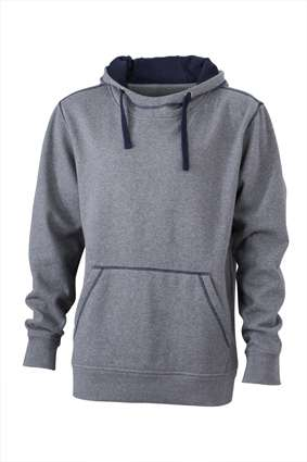 Men´s Lifestyle Hoody | James & Nicholson