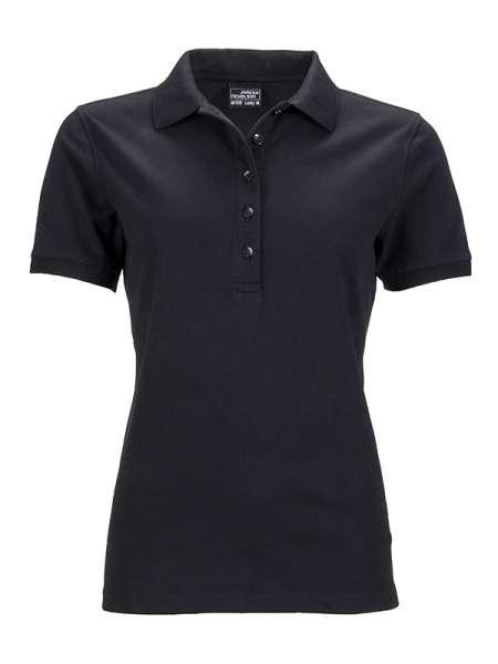 Ladies` Elastic Polo Piqué | James & Nicholson