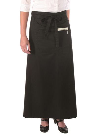 Bistro Apron with Front Pocket   Link Kitchen Wear