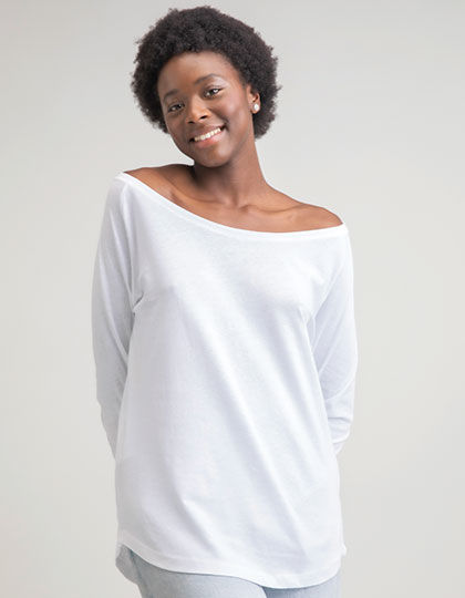 Womens Loose Fit Long Sleeve T | Mantis